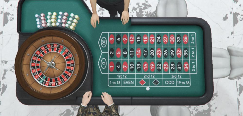 Das beliebte Spiel Roulette gibt es auch im GTA 5 Casino
