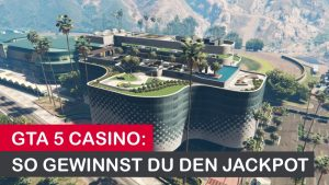Das eindrucksvolle GTA Casino Gebäude